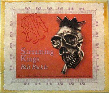 SCREAMING KINGS ベルトバックル