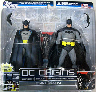 DC DIRECT DC ORIGINS 2PACK SERIES 1 BATMAN