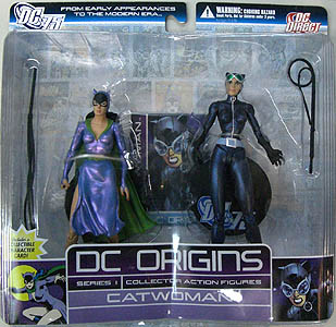 DC DIRECT DC ORIGINS 2PACK SERIES 1 CATWOMAN