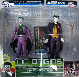 DC DIRECT DC ORIGINS 2PACK SERIES 1 THE JOKER
