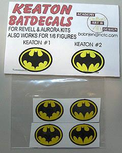 ACADEMY ART & DESIGN ビニールステッカー 映画版 BATMAN 1作目 & BATMAN RETURNS