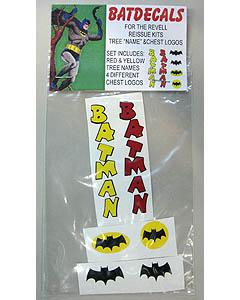ACADEMY ART & DESIGN ビニールステッカー BATMAN ネーム&ロゴ