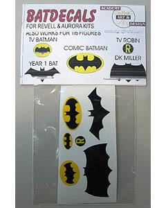 ACADEMY ART & DESIGN ビニールステッカー BATMAN エンブレム各種