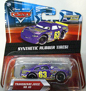 MATTEL CARS 2010 K-MART限定 SYNTHETIC RUBBER TIRES! TRANSBERRY JUICE NO.63