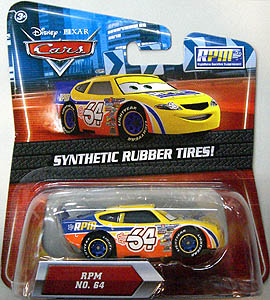 MATTEL CARS 2010 K-MART限定 SYNTHETIC RUBBER TIRES! RPM NO.64