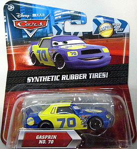 MATTEL CARS 2010 K-MART限定 SYNTHETIC RUBBER TIRES! GASPRIN NO.70