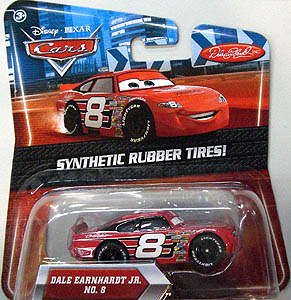 MATTEL CARS 2010 K-MART限定 SYNTHETIC RUBBER TIRES! DALE EARNHARDT JR. NO.8