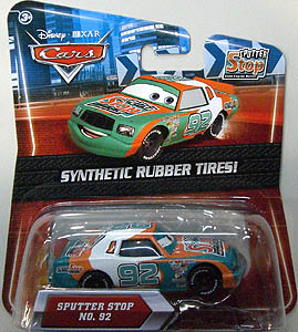 MATTEL CARS 2010 K-MART限定 SYNTHETIC RUBBER TIRES! SPUTTER STOP NO.92