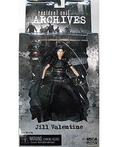 NECA RESIDENT EVIL ARCHIVES SERIES 2 JILL VALENTINE [BLACK]