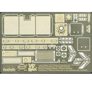 PARAGRAFIX メビウスモデル シャリオット 宇宙探検車専用 エッチングパーツ&デカールセット / PGX119