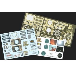 PARAGRAFIX メビウスモデル ジュピター2号専用 エッチングパーツ&デカールセット / PGX121