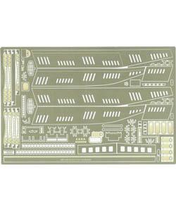 PARAGRAFIX メビウスモデル シービュー号 1/128サイズ専用 エッチングパーツ / PGX102