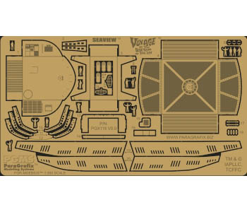 PARAGRAFIX メビウスモデル シービュー号 1/350サイズ専用 エッチングパーツ / PGX118