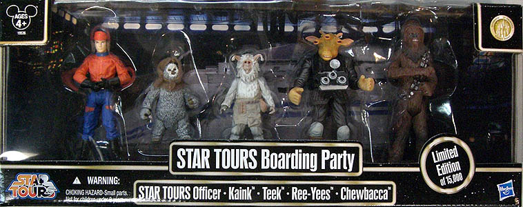 STAR WARS USAディズニーテーマパーク限定 STAR TOURS BOARDING PARTY 5PACK
