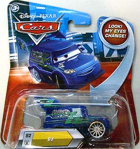 MATTEL CARS 2010 MY EYES CHANGE DJ 台紙傷み特価