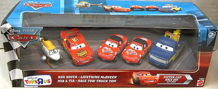 MATTEL CARS 2010 USA TOYSRUS限定 PISTON CUP RACE DAY 5PACK