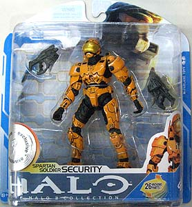 McFARLANE HALO 3 SERIES 7 USA TOYSRUS限定 SPARTAN SOLDIER SECURITY [ORANGE]