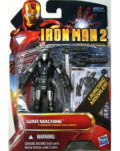 HASBRO 映画版 IRON MAN 2 3.75インチ MOVIE SERIES WAR MACHINE [BLUE]