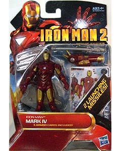 HASBRO 映画版 IRON MAN 2 3.75インチ MOVIE SERIES IRON MAN MARK IV 台紙傷み特価