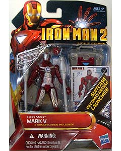 HASBRO 映画版 IRON MAN 2 3.75インチ MOVIE SERIES IRON MAN MARK V