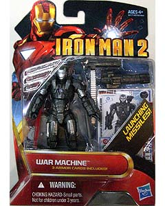 HASBRO 映画版 IRON MAN 2 3.75インチ MOVIE SERIES WAR MACHINE [RED]