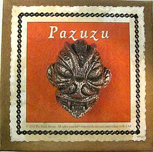 PAZUZU ピューター製 ベルトバックル