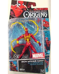 HASBRO SPIDER-MAN ORIGINS IRON SPIDER-MAN