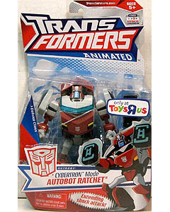 HASBRO TRANSFORMERS ANIMATED USA TOYSRUS限定 DELUXE CLASS CYBERTRON MODE AUTOBOT RATCHET