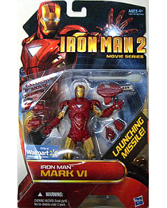 HASBRO 映画版 IRON MAN 2 USA WALMART限定 6インチ IRON MAN MARK VI