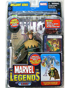 TOYBIZ MARVEL LEGENDS 13 ONSLAUGHT SERIES VARIANT LOKI