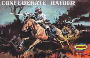 メビウスモデル 1/8スケール オーロラ復刻モデル CONFEDERATE RAIDER 南北戦争 南軍騎兵 組み立て式プラモデル
