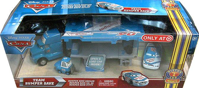 MATTEL CARS 2010 TEAM BUMPER SAVE