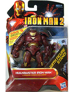HASBRO 映画版 IRON MAN 2 3.75インチ COMIC SERIES HULKBUSTER IRON MAN 台紙傷み特価