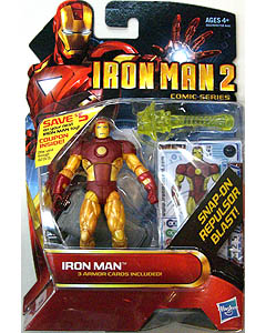 HASBRO 映画版 IRON MAN 2 3.75インチ COMIC SERIES IRON MAN [ARMOR WARS ARMOR] 台紙傷み特価