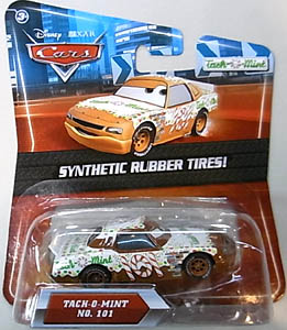 MATTEL CARS 2010 K-MART限定 SYNTHETIC RUBBER TIRES! TACH-O-MINT NO.101