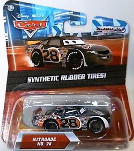 MATTEL CARS 2010 K-MART限定 SYNTHETIC RUBBER TIRES! NITROADE NO.28