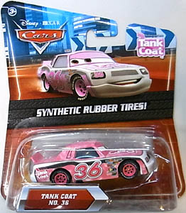 MATTEL CARS 2010 K-MART限定 SYNTHETIC RUBBER TIRES! TANK COAT NO.36