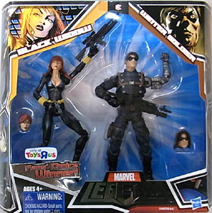 HASBRO MARVEL LEGENDS USA TOYSRUS限定 2PACK BLACK WIDOW & WINTER SOLDIER