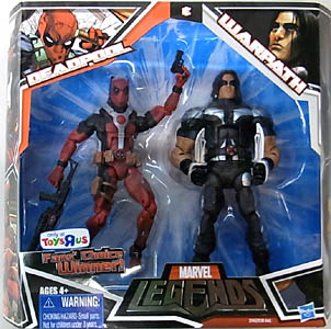HASBRO MARVEL LEGENDS USA TOYSRUS限定 2PACK DEADPOOL & WARPATH