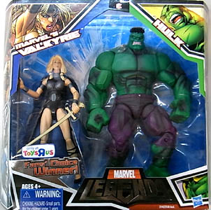 HASBRO MARVEL LEGENDS USA TOYSRUS限定 2PACK MARVEL'S VALKYRIE & HULK