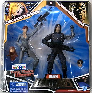HASBRO MARVEL LEGENDS USA TOYSRUS限定 2PACK VARIANT BLACK WIDOW & WINTER SOLDIER