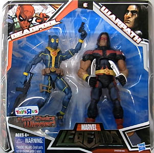 HASBRO MARVEL LEGENDS USA TOYSRUS限定 2PACK VARIANT DEADPOOL & WARPATH