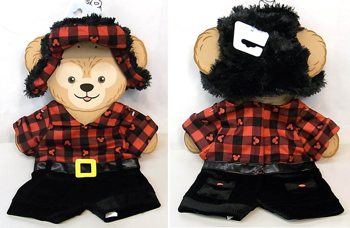 DISNEY USAディズニーテーマパーク限定 DUFFY THE DISNEY BEAR COSTUME [DUFFY THE DISNEY BEAR CANADA COSTUME]