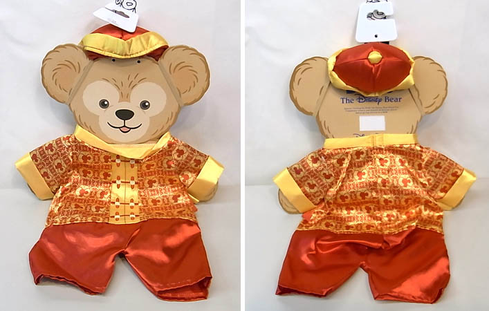 DISNEY USAディズニーテーマパーク限定 DUFFY THE DISNEY BEAR COSTUME [DUFFY THE DISNEY BEAR CHINA COSTUME]