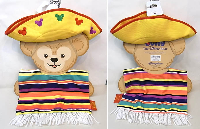 DISNEY USAディズニーテーマパーク限定 DUFFY THE DISNEY BEAR COSTUME [DUFFY THE DISNEY BEAR MEXICO COSTUME]