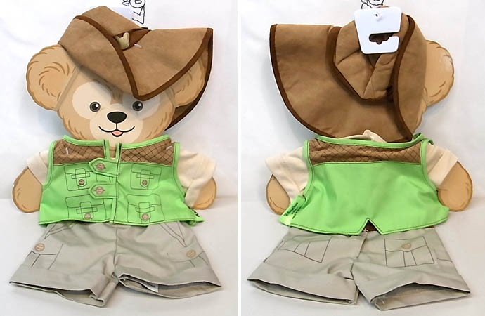 DISNEY USAディズニーテーマパーク限定 DUFFY THE DISNEY BEAR COSTUME [DUFFY THE DISNEY BEAR SAFARI COSTUME]