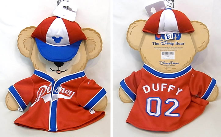 DISNEY USAディズニーテーマパーク限定 DUFFY THE DISNEY BEAR COSTUME [17IN USA D/COSTUME]