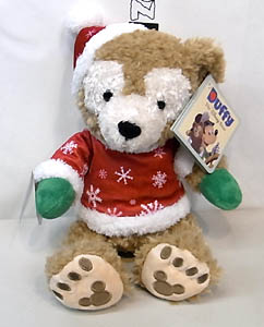 DISNEY USAディズニーテーマパーク限定 DUFFY THE DISNEY BEAR 12INCH HOLIDAY DUFFY THE DISNEY BEAR