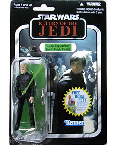 HASBRO STAR WARS 2010 THE VINTAGE COLLECTION LUKE SKYWALKER (JEDI KNIGHT OUTFIT) [RETURN OF THE JEDI]