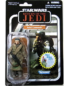 HASBRO STAR WARS 2010 THE VINTAGE COLLECTION REBEL COMMANDO [RETURN OF THE JEDI]